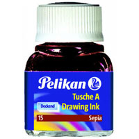 CHINA PELIKAN 10 ML SEPPIA