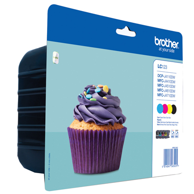MULTIPACK BROTHER LC123VALBP 4 COLORI